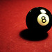 Pocketing the 8 ball