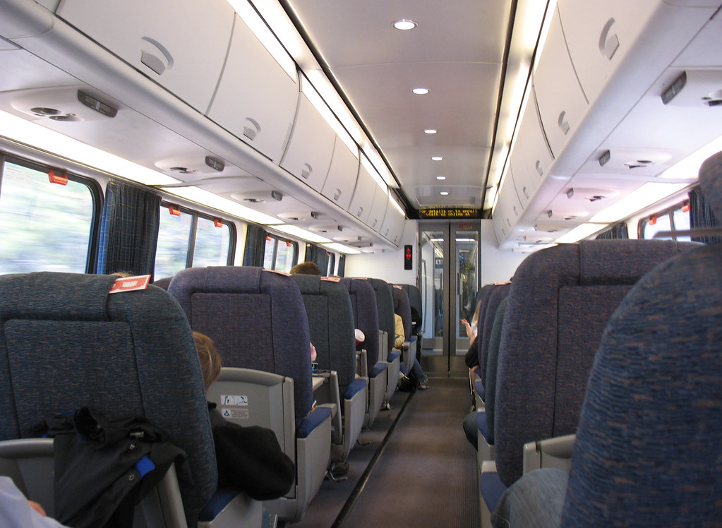 amtrak acela express interior the interior of a business c flickr. Black Bedroom Furniture Sets. Home Design Ideas