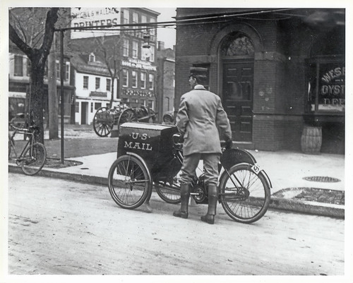 Three-wheeled Mail Collection Motorcycle | by Smithsonian Institution
