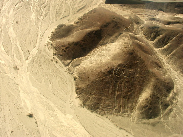Nazca Lines, Owlman/Astronaut Figure | Flickr - Photo Sharing!