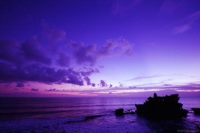 Purple Sky Maria Ismawi Flickr