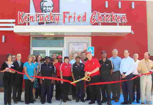 """kentucky fried chicken management mission Today, i hereby declare that the great restaurant that founded the famous kentucky fried chicken, kfc, will now close due to mismanagement,"""" declared the old man wearing a crisp white suit, """"we apologize to all of our customers that we fed you other birds instead of chickens."""