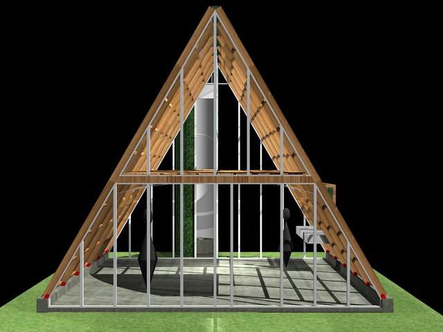 Casa ecol gica prefabricada img 02 el art fice i igo - Casa ecologica prefabricada ...
