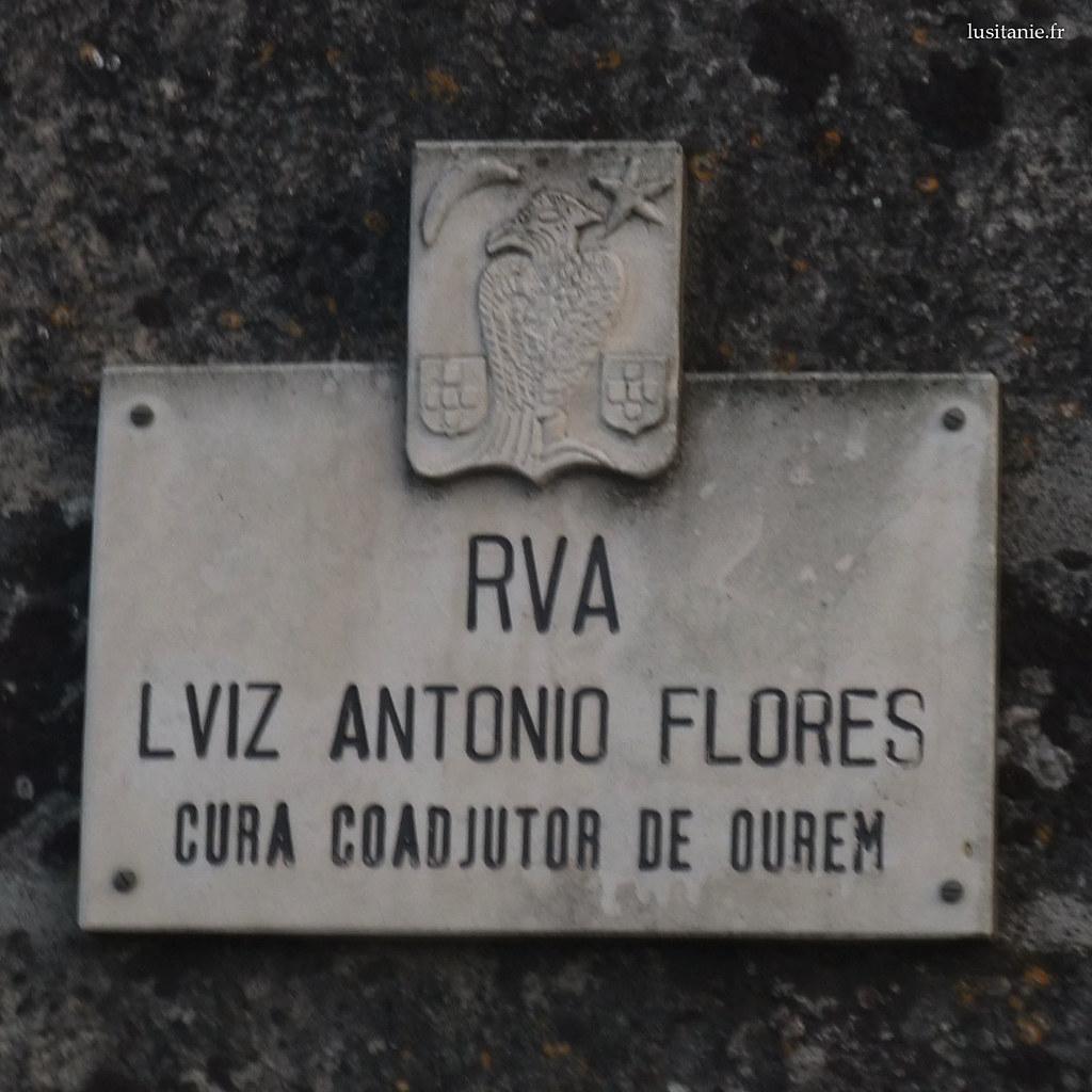 cidade velha ourem placa rua