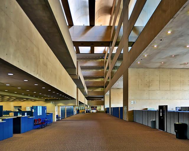 Dallas City Hall 2nd Level Interior View Justin