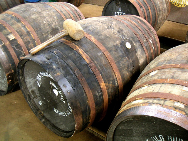 Bushmills ex-Sherry butts