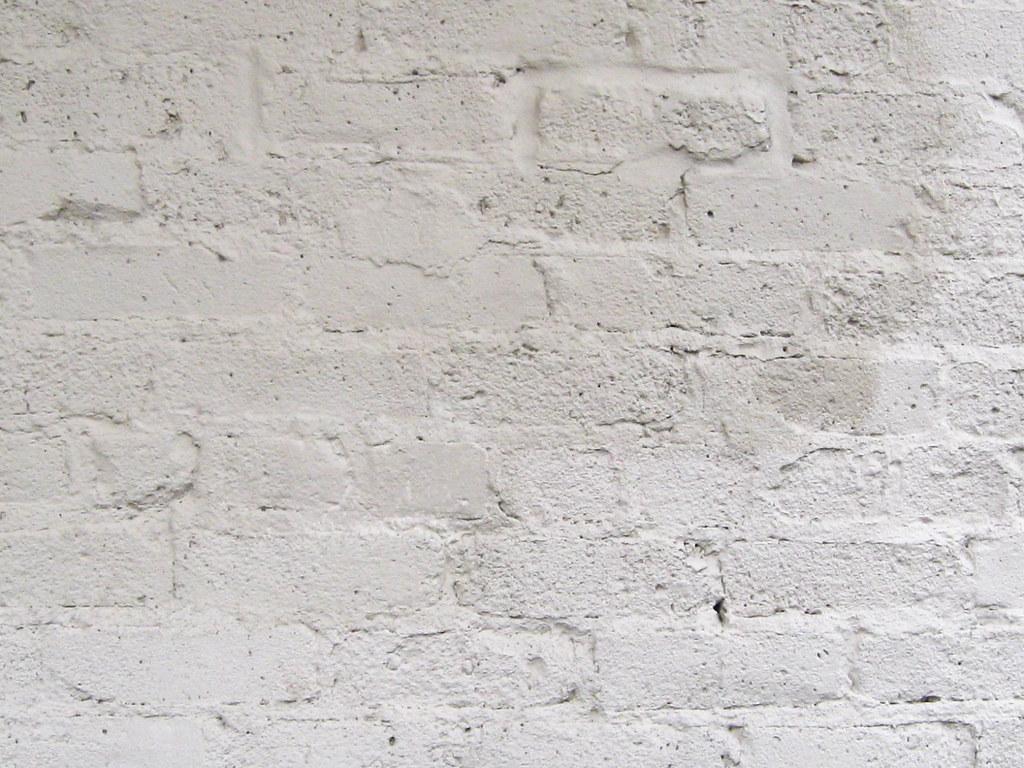 White Brick Wallpaper Kitchen