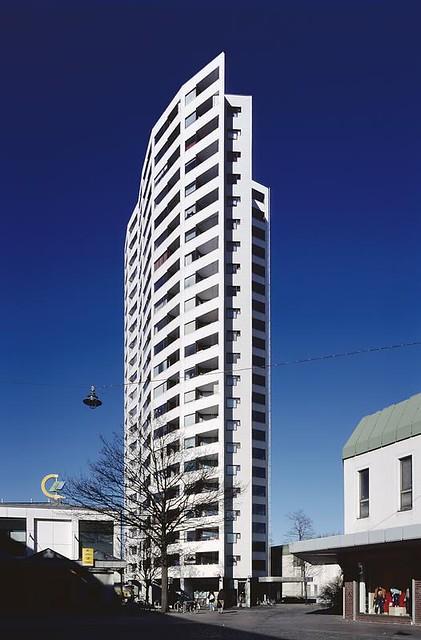 De Bremen Aalto 01 High Rise Building Neue Vahr Bremen Flickr