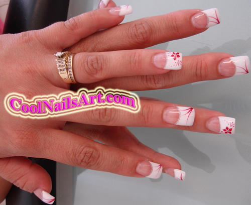 nail design red hot cherry some example of nail art desi - Hot Designs Nail Art Ideas