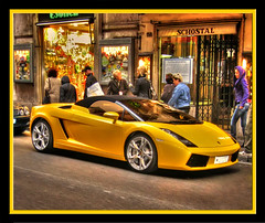 Yellow Lamborghini in Rome | by Mike G. K.