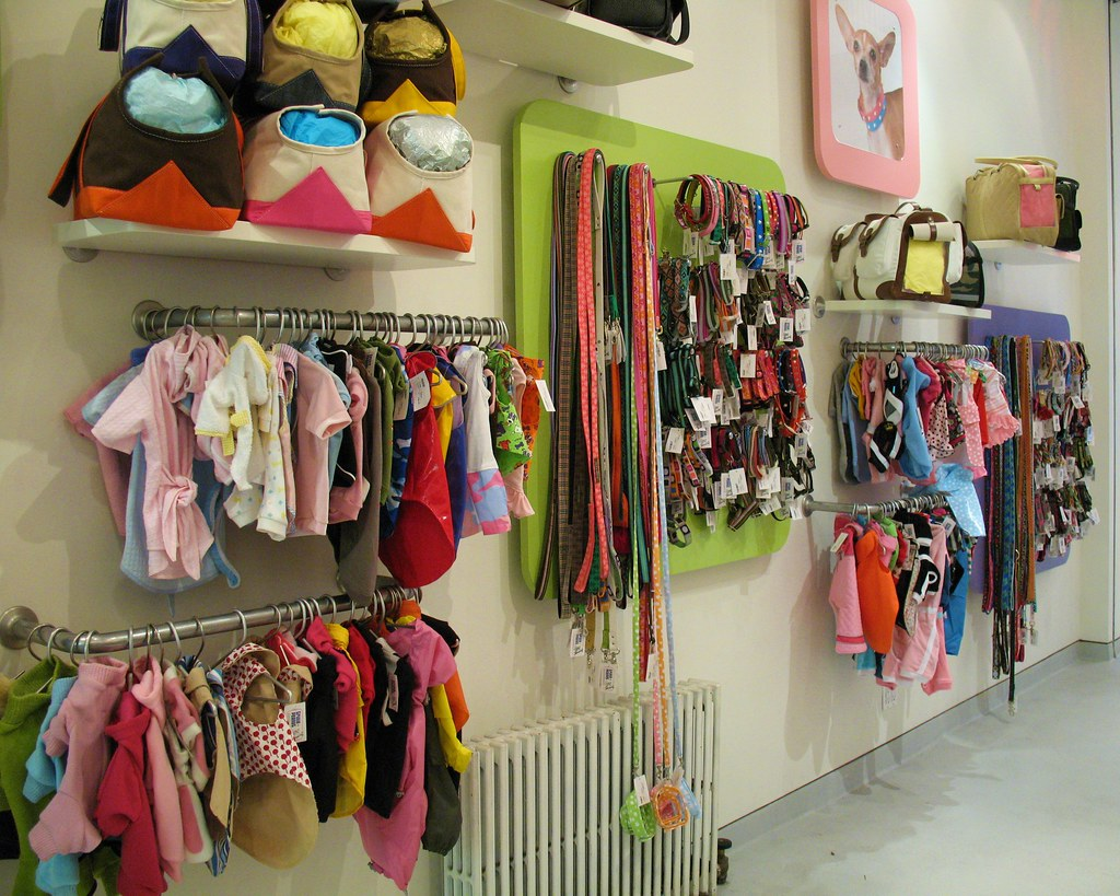 Pet clothing store