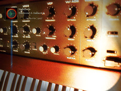 "RSF Kobol Synthesizer ""color graphic"" (NightBirds Electronic Music Studio - 16 juin 2007) 
