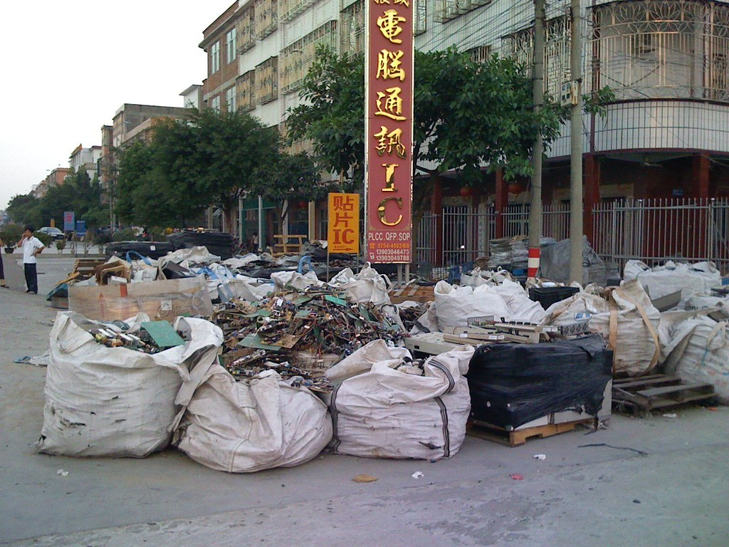 Guiyu e-waste | Guiyu is one of the biggest e-waste