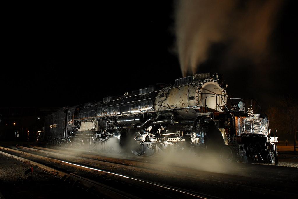 Union Pacific # 4012 | Union Pacific Big Boy Locomotive ...