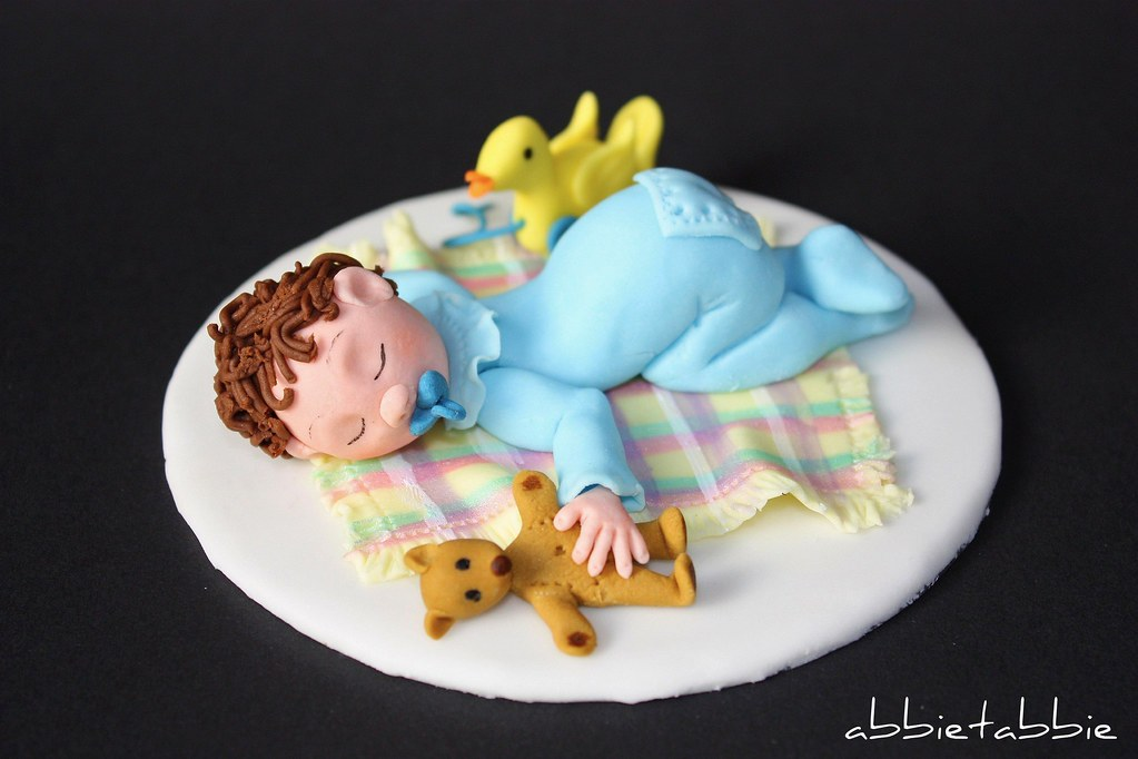 baby cake toppers baby shower cake topper made for a baby shower in a 1420