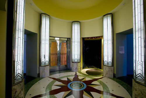 Foyer Art Deco : Kings cinema foyer interior of the
