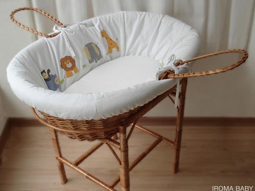 Quarto De Bebe Decorado Com Safari ~ Quarto de beb? Selva (Safari)  Cesto de vime decorado no te