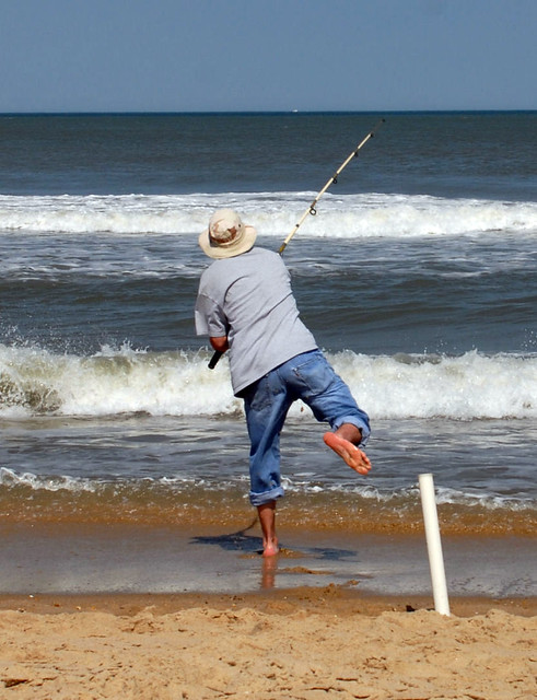 Nephew shane surf fishing ocean city md flickr groupup for Fishing in ocean city md