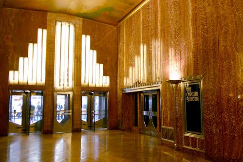 The chrysler building lobby 03 flickr photo sharing for Chrysler building ceiling mural