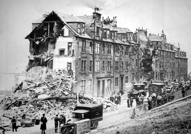 Belville Street Bombed The Greenock Blitz Was Two Nights