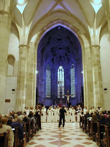 Estonian TV Girls' Choir at St Martin's cathedral in Bratislava | by ...