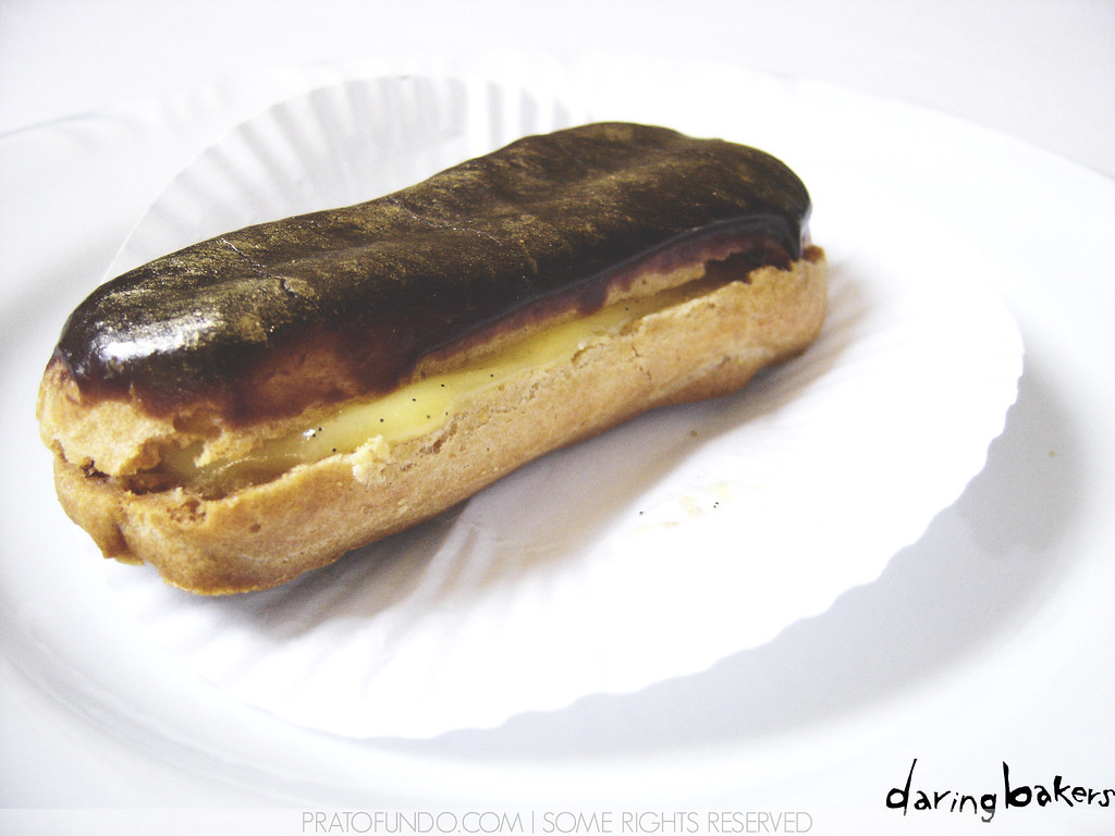 Daring Bakers: Chocolate Éclair do Pierre Hermé ...