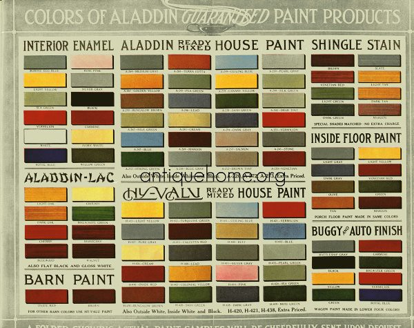 Historic bungalow colors vintage palette 1910 to 1920 for Homedepot colorsmartbybehr com paintstore