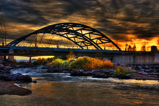 Sunset at Confluence Park | by Thad Roan - Bridgepix