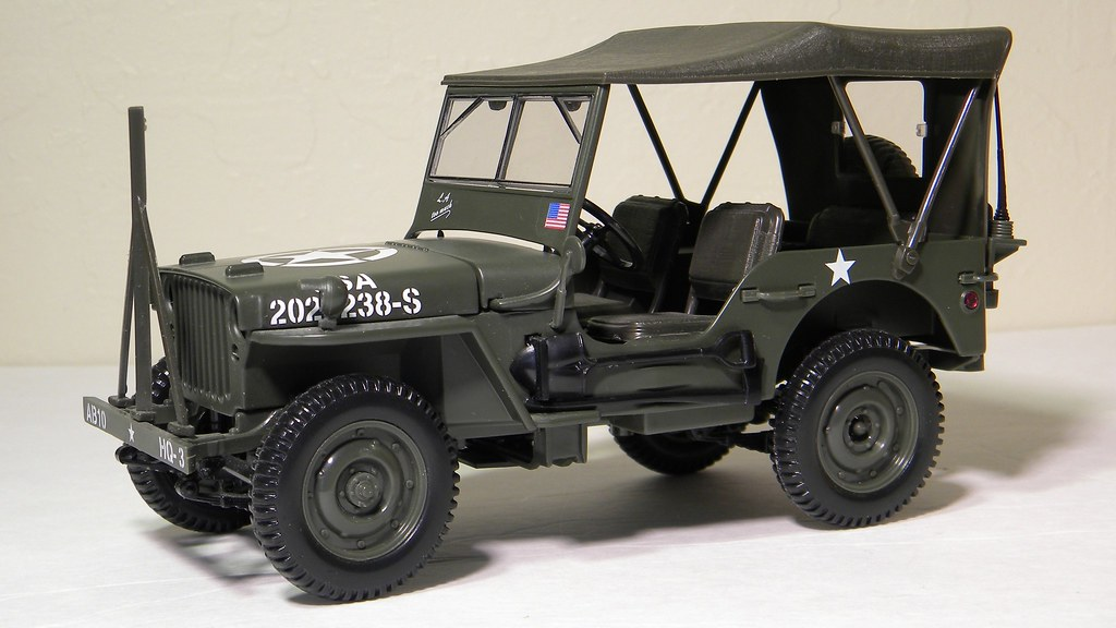 1942 Willys Jeep (Solido) 1/18th scale diecast model | Flickr