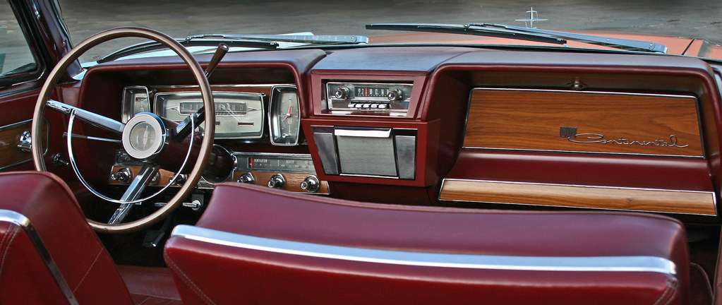 1962 Lincoln Continental Dash The Architectural And