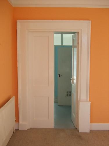 Double Doors To Bathroom Admiralty House The Left Door Wa Flickr