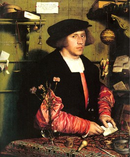 Hans Holbein, The Merchant Georg Gisze, 1532, Berlin | by Circa 1440