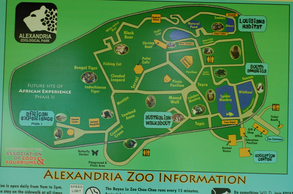 Alexandria La Zoo Map Damian Shaheen Flickr: Los Angeles Zoo Map At Infoasik.co