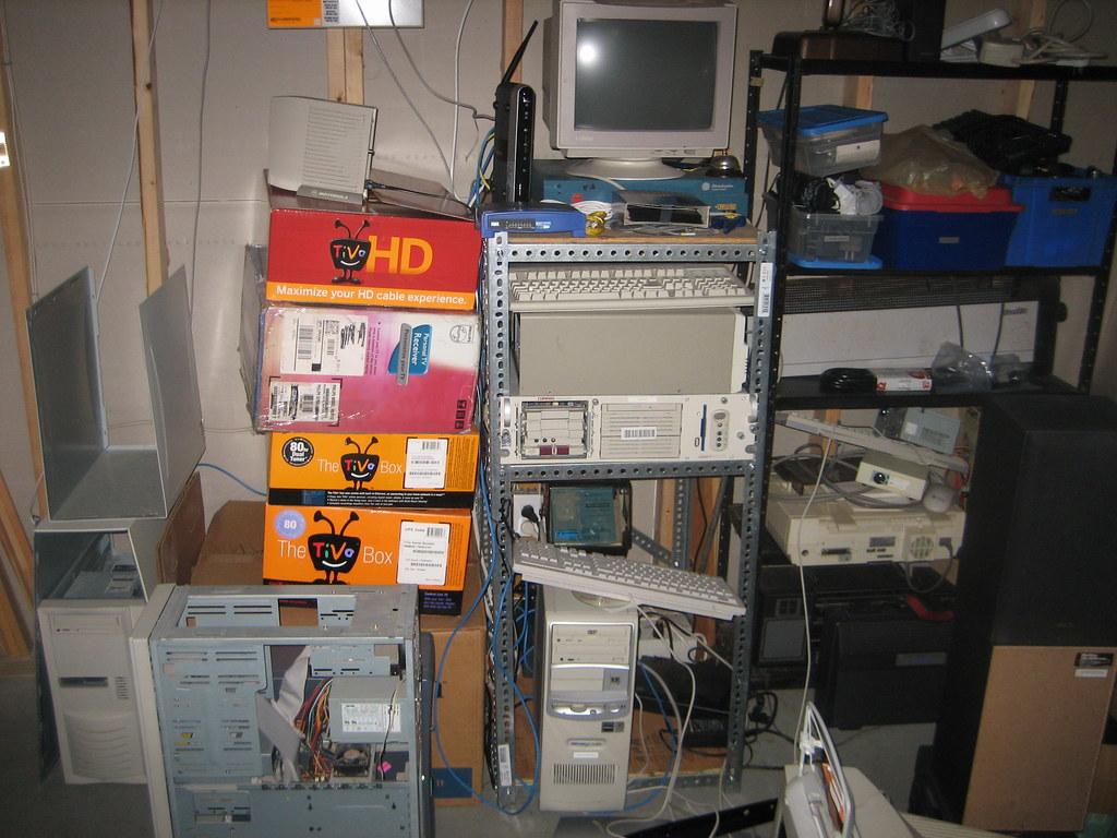 my old server rack