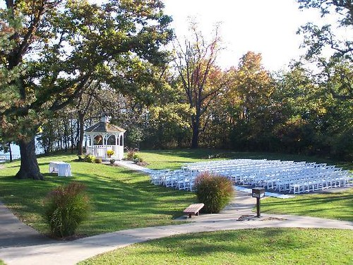 Outdoor Wedding Site At Deer Creek Deer Creek State Park