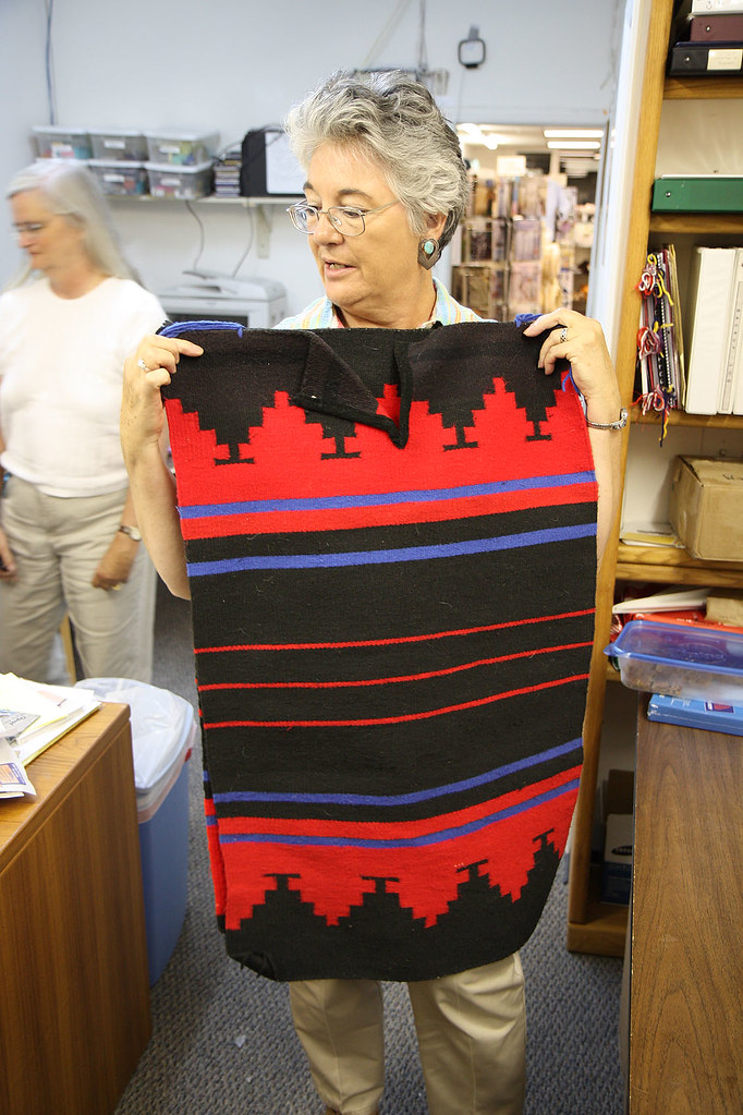 Sharie With Navajo Rug Dress This Is A Traditional