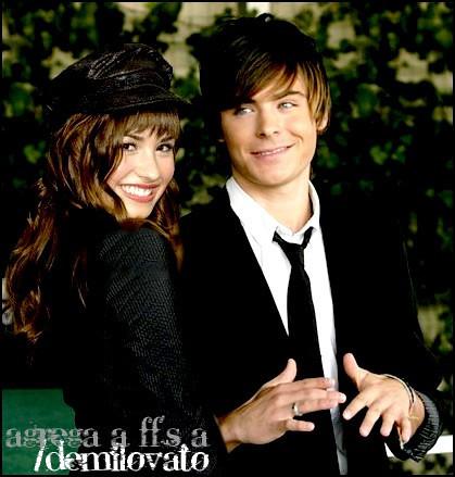 Demi Lovato e Zac Efro... Zac Efron