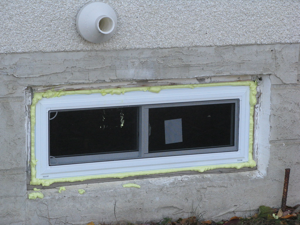 Basement window installation 019 bobcaygeon59 flickr for Basement window replacement