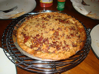 Bacon Crumble Apple Pie | by Fuzzy Gerdes
