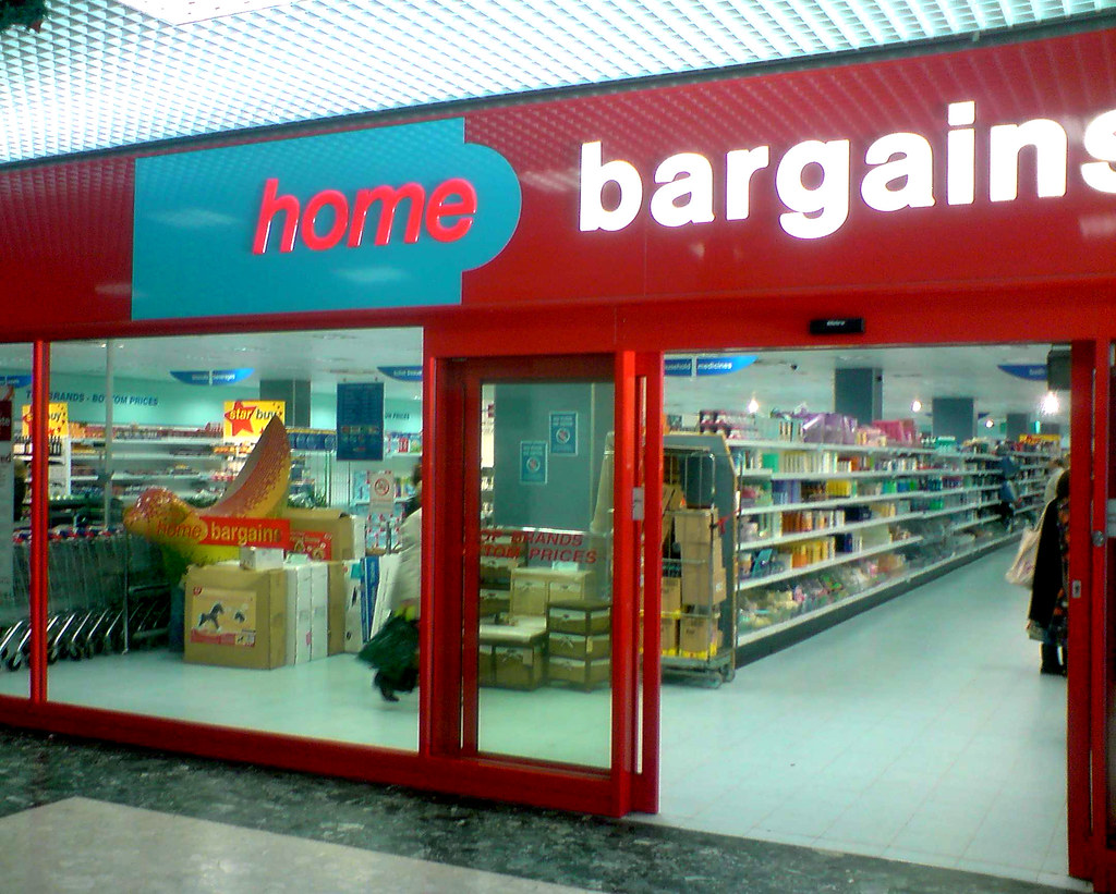 Home Bargains New Stores Opening