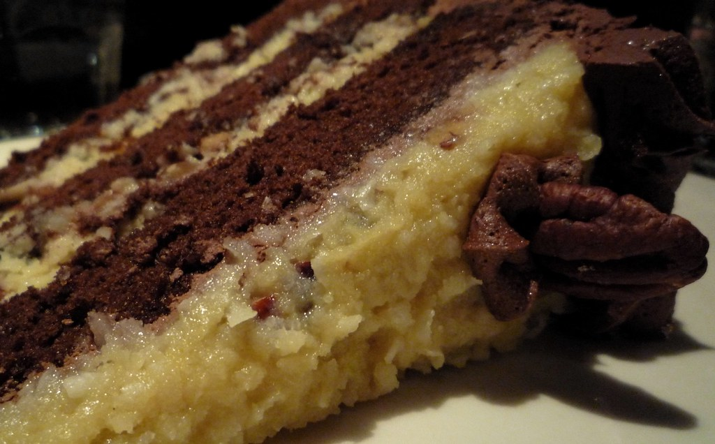 German Chocolate Cake Coconut Pecan Filling