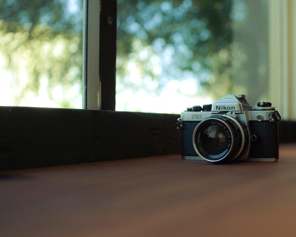 how to take a photo with a nikon
