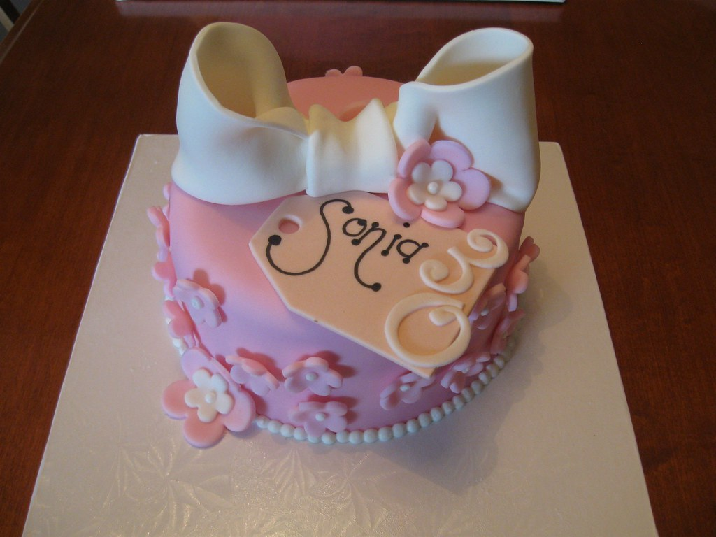 Birthday Cake Image Zeenat : Happy Birthday Sonia!! Jeannette s Custom Cakes Flickr