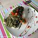 Dory with Tomato-Pesto Confit