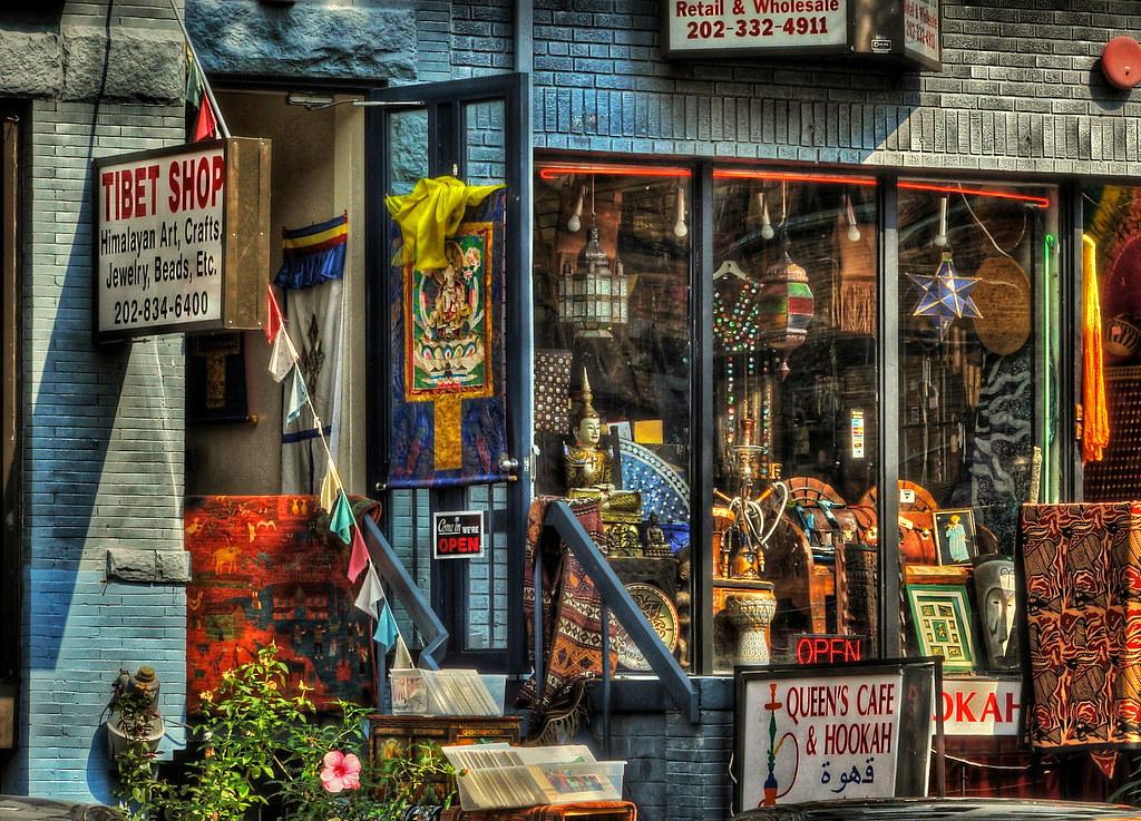 Tibet Shop And Hookah Bar On 18th Street In Adams Morgan