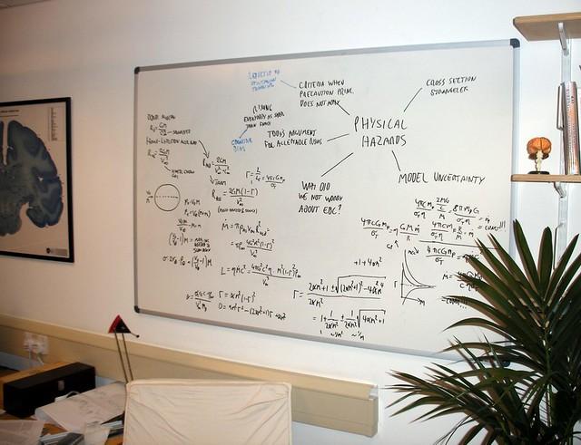Whiteboard | My new whiteboard got a test tonight when I ...