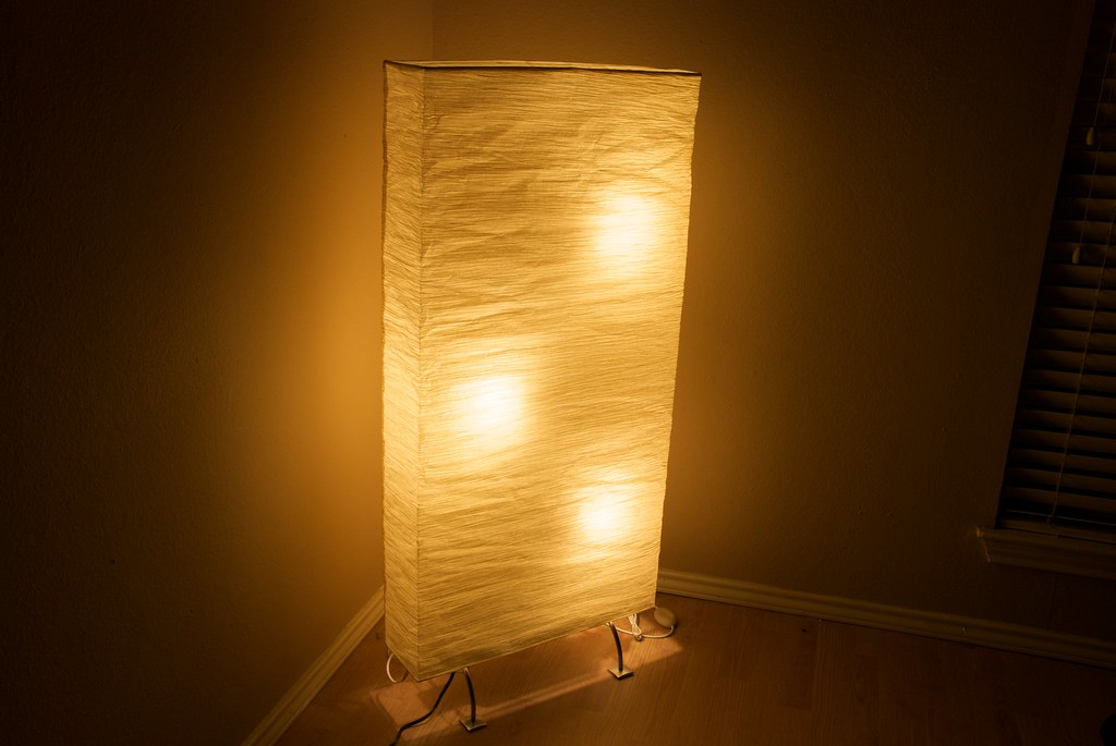 Ikea Orgel Floor Lamp Light Bulb ~ Stock Ikea Orgel Lamp  Notice the three hideous hotspots  Flickr