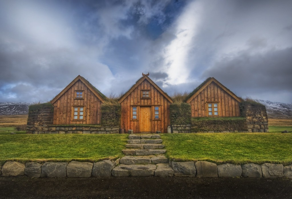 Three Houses With A Grass Roof If You Want To See How I
