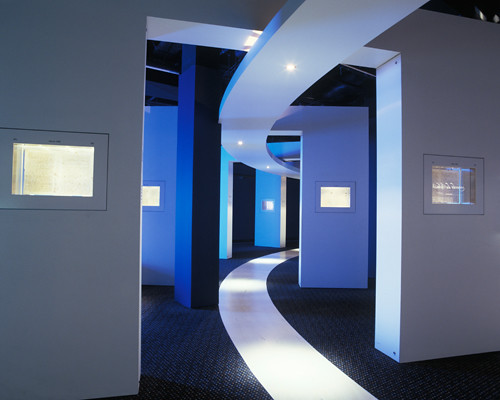 Curved interior | Architectural interior of the Codex ...