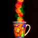 The Simpsons's cup of bokeh
